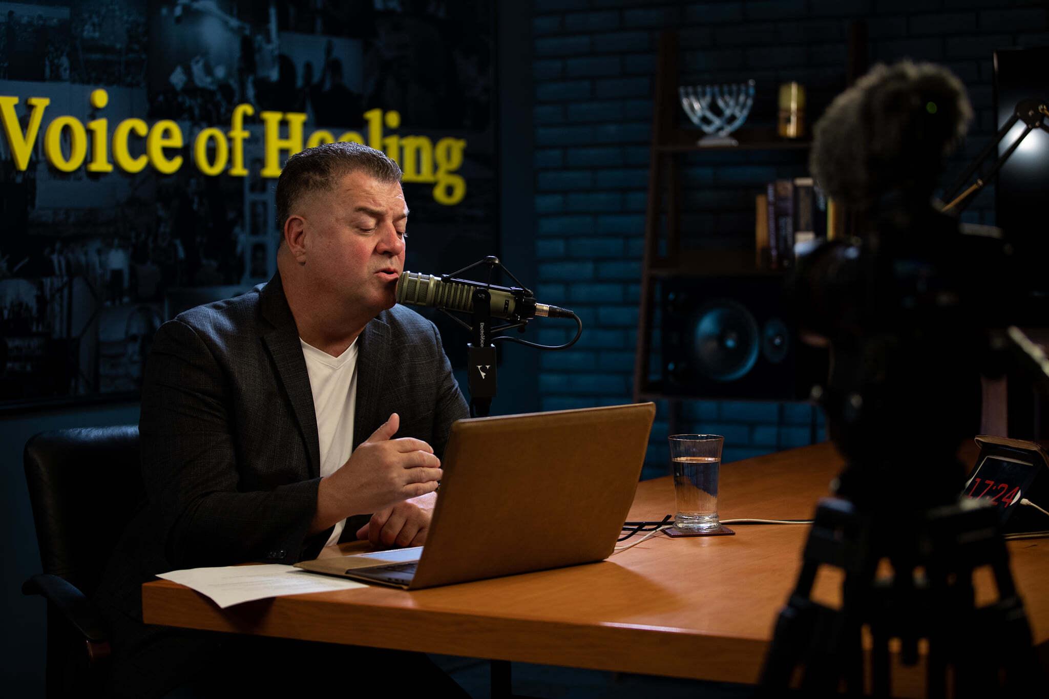 Apostle Michael Petro | Live Radio Headshot